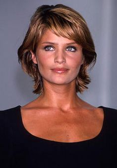 medium to short hair for thick hair   Short Shaggy Thick Hair For Over 50 Design