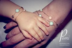 Introducing Tatà - BeBaby - Gold Silver Jewelry, Delicate, Bracelets, Gold, Handmade, Hand Made, Silver Jewellery, Bracelet, Arm Bracelets