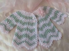 Crochet Baby Sweater by Crochet Junky | Crocheting Pattern - Looking for your next project? You're going to love Crochet Baby Sweater by designer Crochet Junky. - via @Craftsy