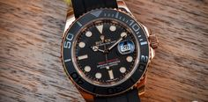 Hands-on with the Rolex Yacht-Master 116655 (Everose gold on Rubber Strap) – Live Photos & Price