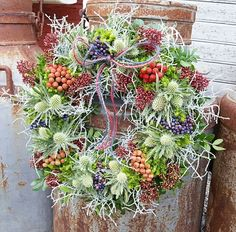 Krans#wreath#autumnwreath#decoration#florist#flower#