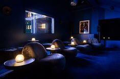 The Tala Fustok designed Ninja Theory office in Cambridge has a cinema room to entice people back into the workplace.