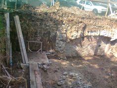 RDCN Frontul de Eliberare a Daciei - Roman: Ruine la Roman