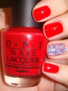 Fun summer manicure!!