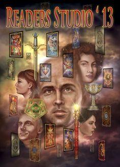 2013 Readers Studio poster by Ciro Marchetti! April 26-28th http://ReadersStudio.com