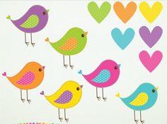 Candy Store Birds Clipart   Meylah