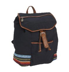 Aeropostale Womens Southwest Embroidery Backpack Black * Click image for more details. (This is an Amazon Affiliate link and I receive a commission for the sales)