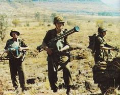 SADF soldiers in 1980s.