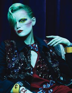 wmagazine:  Face Time Photograph by Ben Hassett; styled by Panos Yiapanis; W magazine May 2014.