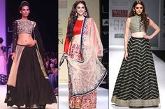 Tips For Indian Brides To Style Their Traditional Wedding Dress With Trendy Crop Tops - BollywoodShaadis.com
