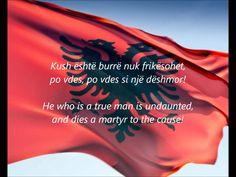 """Albanian National Anthem - """"Hymni I Flamurit"""""""