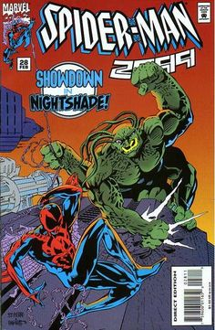 Spider-Man 2099 # 28 by Joe St. Pierre & Jimmy Palmiotti