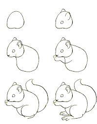 Ongebruikt Afbeeldingsresultaat voor tekenen in stappen | Dieren tekenen, Tekenen KG-72