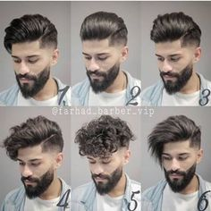 15 Best and Coolest Beard Styles For Men - Trends in 2019 Undercut Hairstyles, Boy Hairstyles, Trendy Hairstyles, Long Undercut, Fashion Hairstyles, Hairstyle Ideas, Trendy Mens Haircuts, Latest Haircuts, Beard Styles For Men