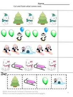 Free Sampler Penguins and Polar Bears Preschool Winter, Winter Activities, Preschool Activities, Snow Theme, Winter Theme, Polar Express Theme, Penguin Coloring Pages, Artic Animals, Penguins And Polar Bears