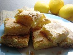 LemonGinger Bars-- yum!  another potential winner from goodcheapeats.com... post also links to lemon meringue pie recipe.
