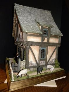 """""""Crooked House"""" by Rik Pierce - side view"""