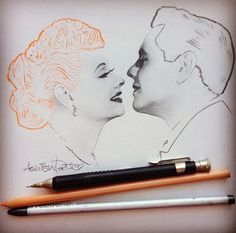 I LOVE, this I LOVE LUCY drawing...how amazing is this artist: