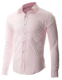 FLATSEVEN Men's Slim Fit Casual Button Down Dress Shirt Long Sleeve (SH600) Pink, XL FLATSEVEN http://www.amazon.com/dp/B00OWXZC9A/ref=cm_sw_r_pi_dp_mhj1ub0EZC7T3
