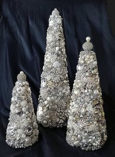 SPECIAL: Trio of Snow and Ice Christmas Trees 7.25