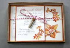 Butcher Twine Tie with Message in a Bottle AddOn by RustBeltPress, $3.00