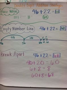 Team V's Second Grade Fun: Double Digit Addition and Subtraction