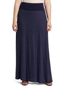 Fresh Laundry Women's Plus-Size Maxi Skirt, Navy, XX-Large Fresh Laundry, http://www.amazon.com/dp/B007HXLZ6G/ref=cm_sw_r_pi_dp_MCQUqb00NRF06