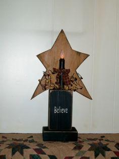 Primitive Star Candle Block