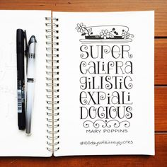100 Days of Disney Quotes Bullet journal spread layouts-Notebook Bullet Journal Quotes, Bullet Journal Ideas Pages, Bullet Journal Layout, Bullet Journal Inspiration, Journal Pages, Hand Lettering Quotes, Calligraphy Quotes Disney, Disney Typography, Doodle Quotes