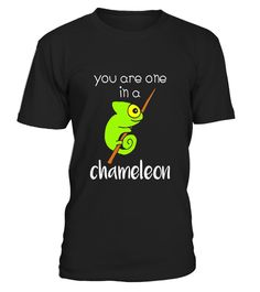 """# You Are One In A Chameleon - Funny Lizard Pun T-Shirt .  Special Offer, not available in shops      Comes in a variety of styles and colours      Buy yours now before it is too late!      Secured payment via Visa / Mastercard / Amex / PayPal      How to place an order            Choose the model from the drop-down menu      Click on """"Buy it now""""      Choose the size and the quantity      Add your delivery address and bank details      And that's it!      Tags: A cute and hilarious…"""