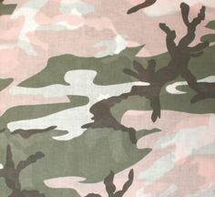 """Subdued Pink Camouflage Military 22"""" x 22"""" Cotton Bandana   4026   $1.99"""