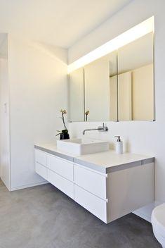 bad dusche und feuchtr ume fugenlos in betonoptik gespachtelt wasserfeste wandspachtelung. Black Bedroom Furniture Sets. Home Design Ideas
