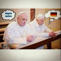 Leo Corona: Bergoglio vs. Ratzinger   Rivalidad papal en el Futbol...