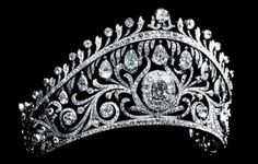 The tiara made from the above sketch.Marie Poutine's Jewels & Royals: Russian Imperial Jewels