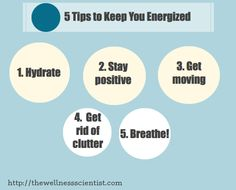 #HowTo Stay Energized #motivation