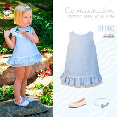 abril-vestido-nina www.nenecanela.com                                                                                                                                                     Más