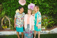 LOOOOVING these fun and floral prints from LuLaRoe!
