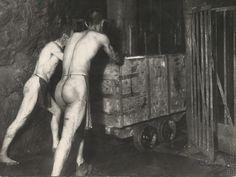 Sergej Protopopov: Baníci v šachte František Painting, Fotografia, Painting Art, Paintings, Painted Canvas, Drawings