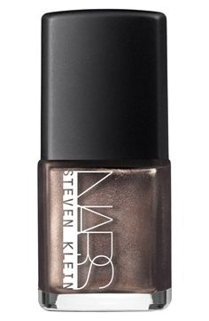 Bronze nail polish will add sparkle and pizzazz to the fall look.