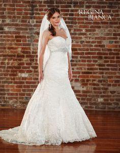 Regina Bianca Wedding Dresses - Style RB1010 [RB1010] - Symphony Regina Bianca Wedding Dresses, Spring 2015.