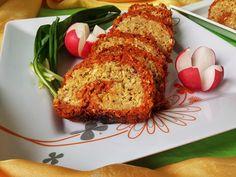 voroslencse_fasirt - Hozzávalók:      kb. 30 dkg vörös lencse     apró szemű zabpehely     2 evőkanál őrölt lenmag     4 evőkanál sörélesztő pehely (elhagyható)     1 hagyma     3-4 gerezd fokhagyma     őrölt köménymag     majoránna     ételízesítő (házi, ha lehet)     piros fűszerpaprika     alufólia     víz     só Vegetarian Recipes, Healthy Recipes, Vegan Burgers, Rabbit Food, Plant Based Diet, Meatloaf, Baked Potato, Banana Bread, Smoothie