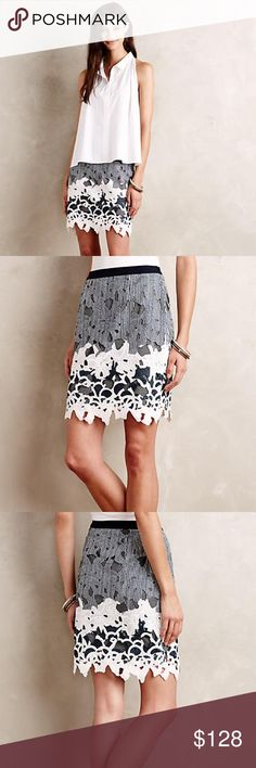 Anthropologie Maeve - Garden Glimpse Skirt Size XS Anthropologie Maeve - Garden Glimpse Skirt NWT Size XS  Details •Polyester; polyester-spandex lining •Pencil silhouette •Cutout detail •Side zip •Hand wash Anthropologie Skirts