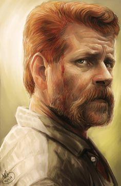 Abraham Ford - The Walking Dead fan art