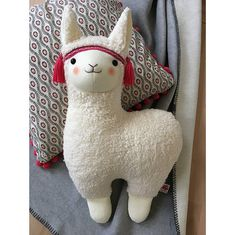 Llama pillow alpaca Unique Llama in white llama decor llama Baby Llama, Cute Llama, Alpacas, Llama Stuffed Animal, Llama Pillow, Llama Gifts, Glands, Fabric Toys, Sock Animals