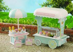 sylvanian families icecream parlour