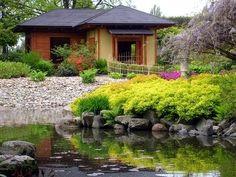 Cool Ideas for Backyard Landscape Near River DIY