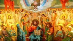 Τι κάνουν οι Άγγελοι στην Θεία Λειτουργία – Οράματα Αγίου Νήφωνος Byzantine Icons, Faith, Painting, Quotes, Quotations, Painting Art, Paintings, Loyalty, Painted Canvas