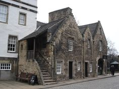 Sixteenth century buildings in Edinburgh