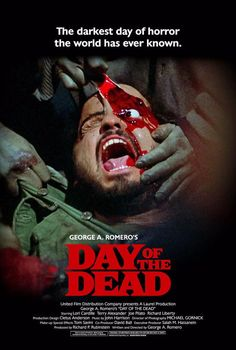 It was Okay, very much of an action movie I think. Horror Movie Posters, Horror Films, Film Posters, Sci Fi Movies, Scary Movies, Zombie Movies, Cult Movies, Film Distribution, Day Of Dead