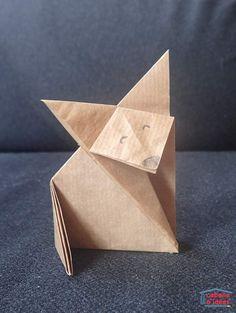 Origami Le faire part de naissance le petit prince en origami pour garçon